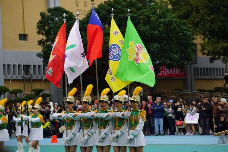 北一女校慶樂儀旗表演