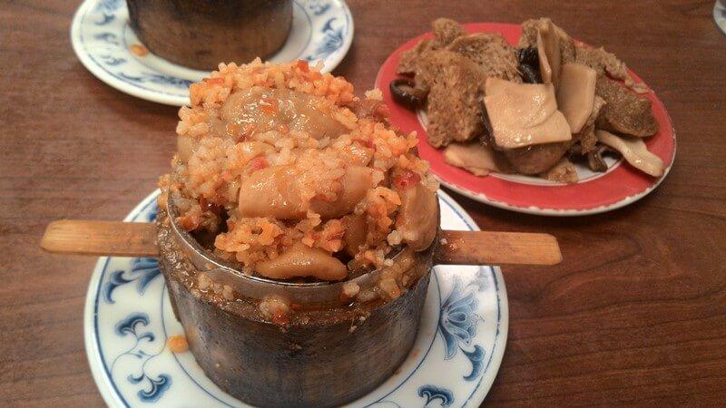 永康牛肉麵的粉蒸肥腸