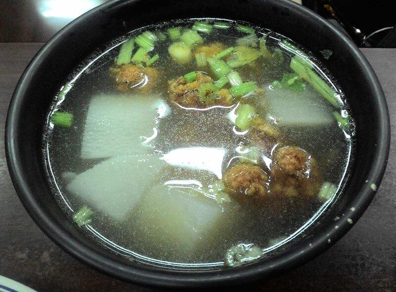 排骨酥清湯
