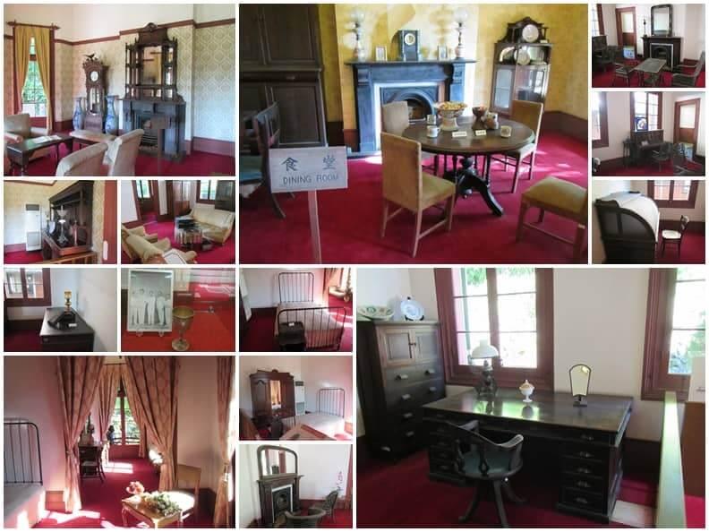 三菱第二船塢宿舍舊址的食堂與書房