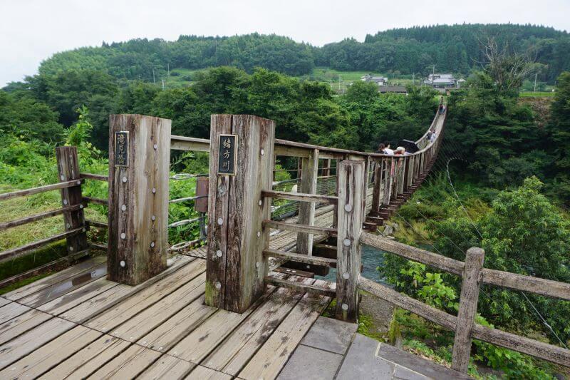 緒方川的滝見橋