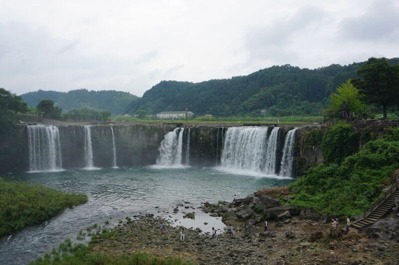 滝見橋看原尻瀑布