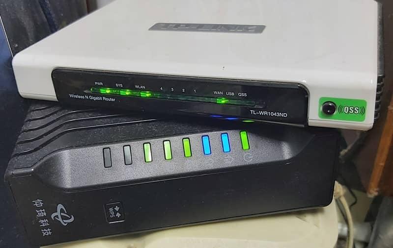 cable modem 外接頻寬分享器