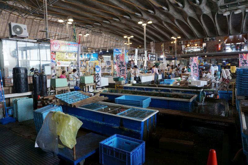唐戶市場水產