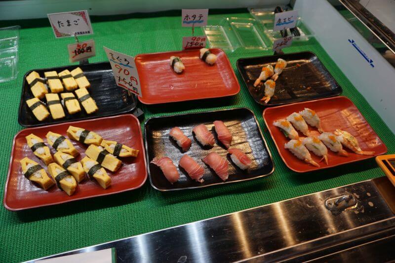 唐戶市場賣的握壽司