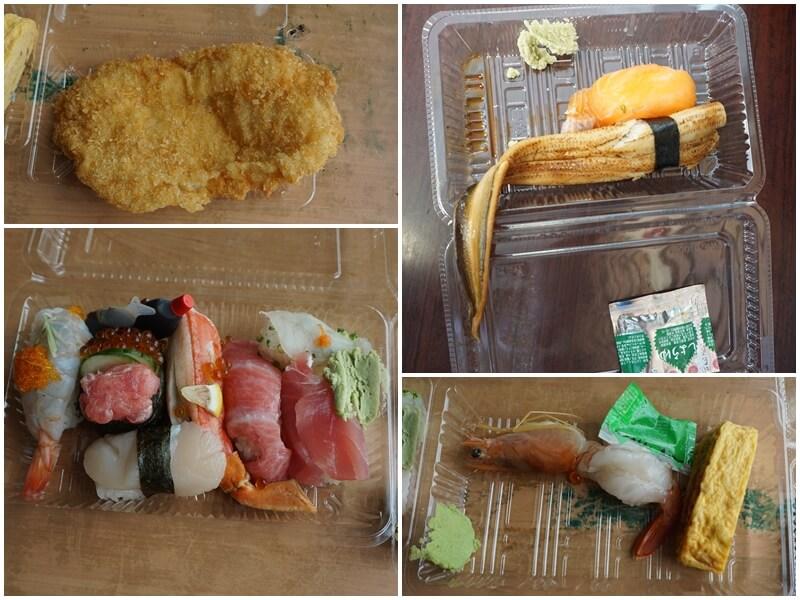 唐戶市場內用午餐