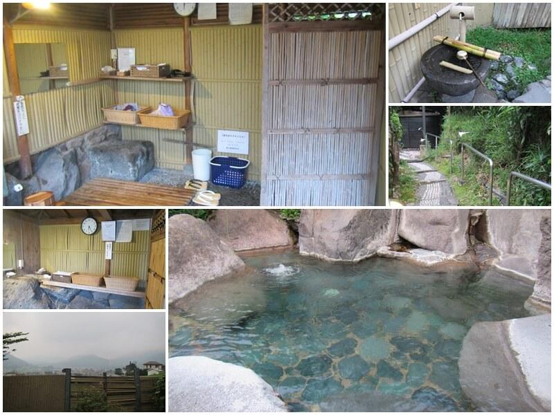 夢想園的戶外露天風呂