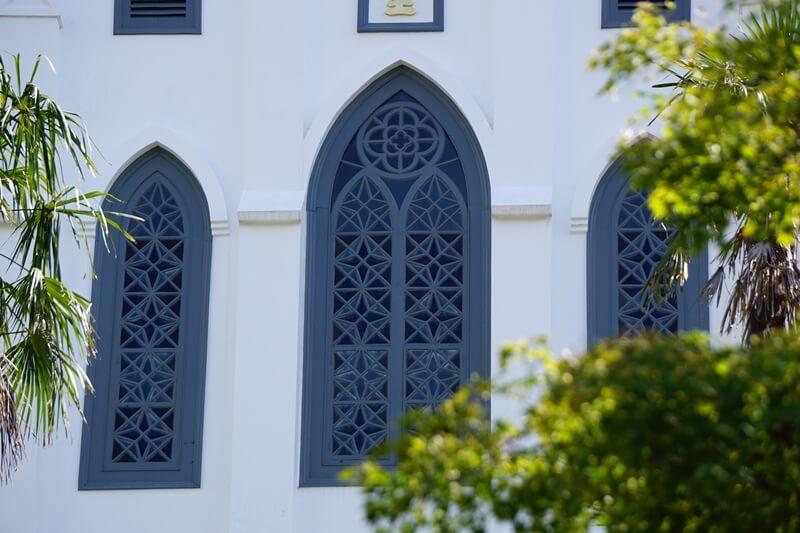 大浦天主堂的哥德式建築