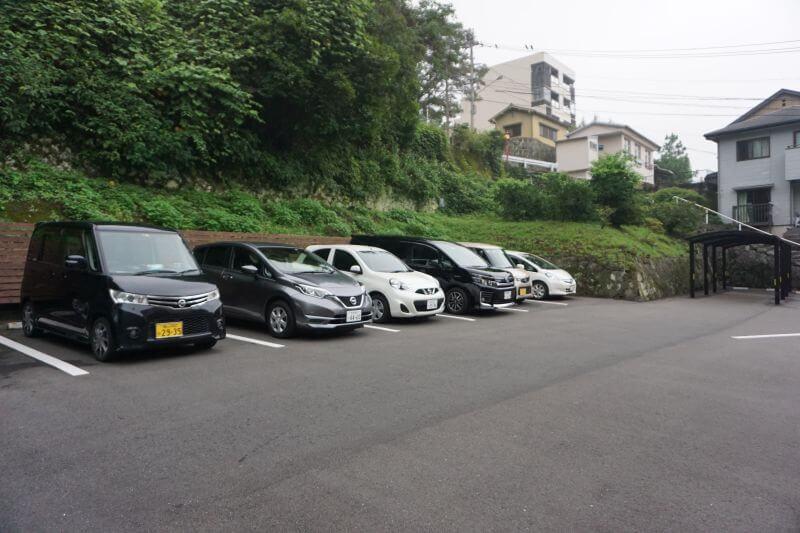兩築別邸停車場