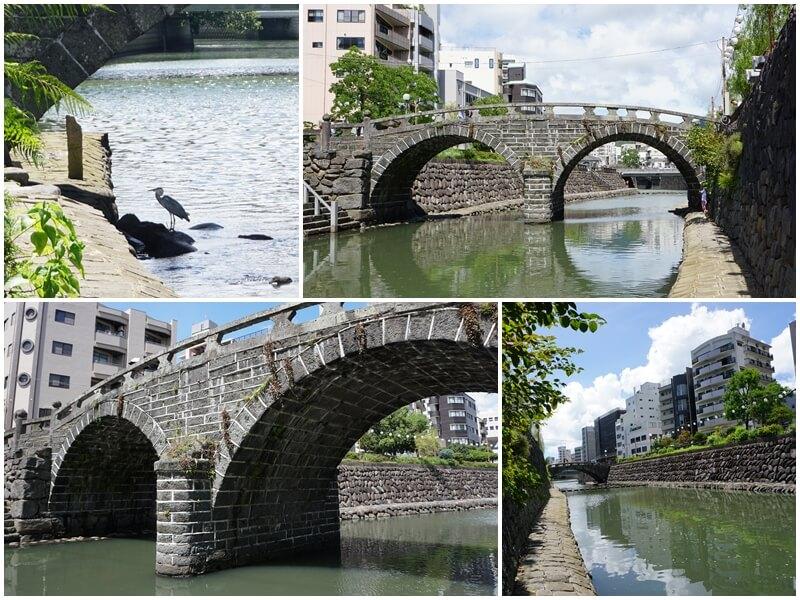 近看日本三名橋-眼鏡橋