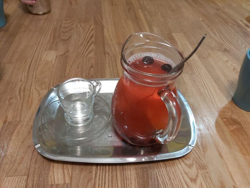 左巴好室的綜合手工果凍茶